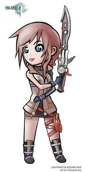 Lightning___Final_Fantasy_XIII_by_masquevale