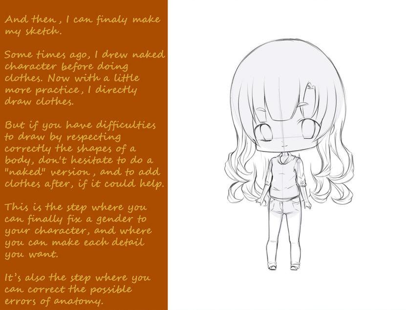 Tutorial para dibujar un personaje chibi (primera parte) - Xiibi.com 77bdcabcede5