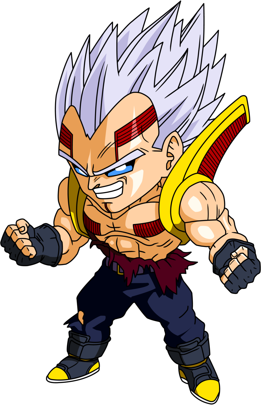 Baby Vegeta Chibi Dragon Ball